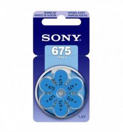 Sony Batterij PR44 (675) 6 st. - MAX05000004