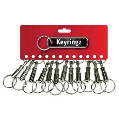 Keyring AutoSnap Nikkel 386 - HOZ22133386
